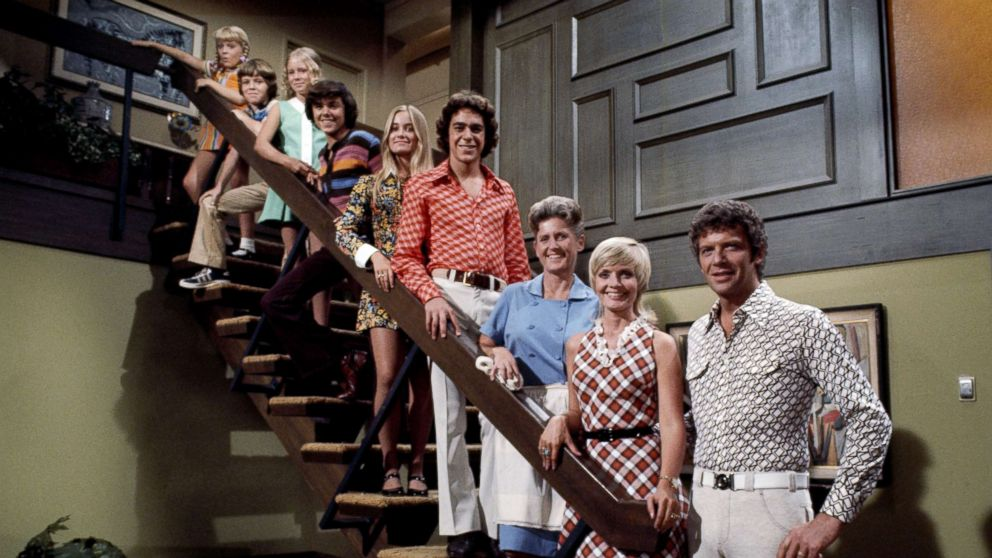 """A scene from the show """"The Brady Bunch,"""" Aug. 27, 1969."""