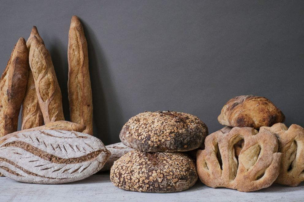 PHOTO: Traditional artisan bread baked by Old World Levain bakery in Asheville, N.C.