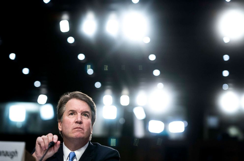 Watch Brett Kavanaugh's furious, tearful opening statement