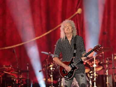 Queen's Brian May reveals he suffered a 'small heart attack'