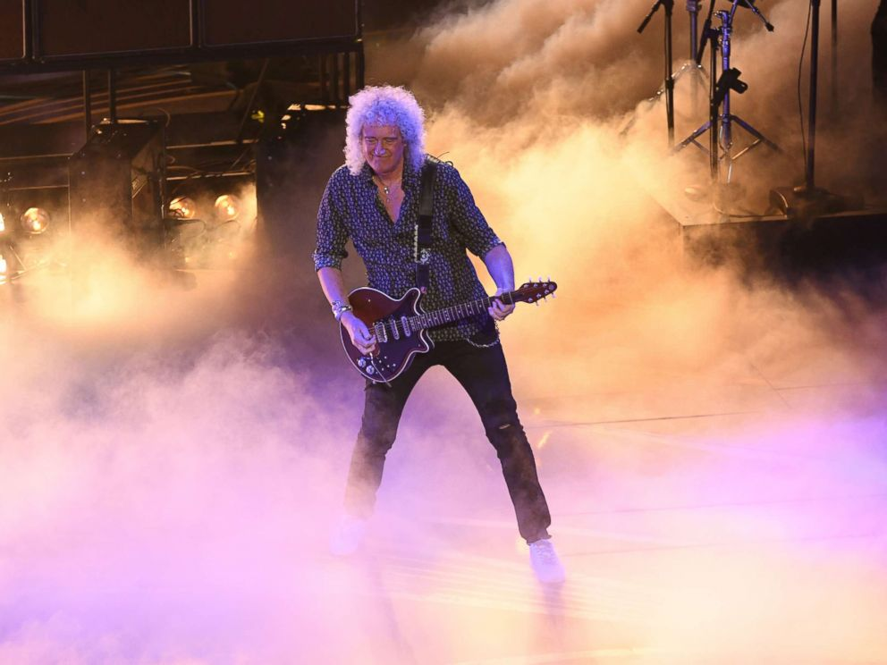 PHOTO: Brian May of Queen performs onstage during the 91st Annual Academy Awards at Dolby Theatre on Feb. 24, 2019 in Hollywood, Calif.