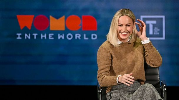 Brie Larson fangirls over Oprah and shows her how to 'French tuck'