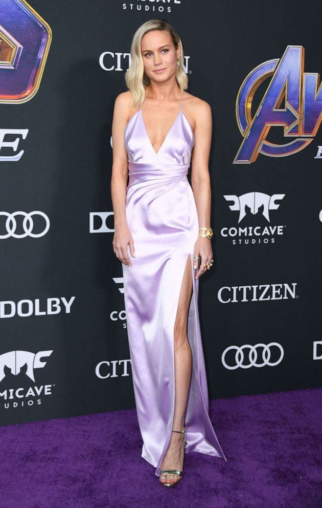 PHOTO:Brie Larson arrives for the World premiere of Marvel Studios Avengers: Endgame at the Los Angeles Convention Center on April 22, 2019 in Los Angeles.