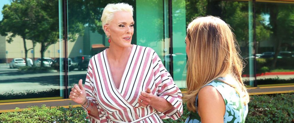 PHOTO: Brigitte Nielsen opens up about giving birth at age 54 in an interview with ABC News Kayna Whitworth.