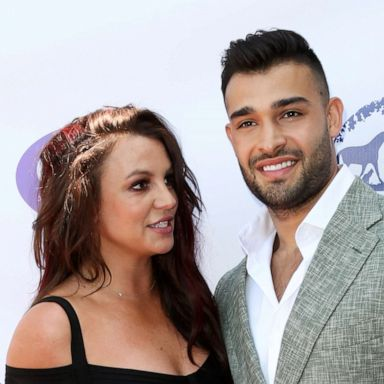 PHOTO: Britney Spears and Sam Asghari attend the 2019 Daytime Beauty Awards at The Taglyan Complex, Sept. 20, 2019, in Los Angeles.
