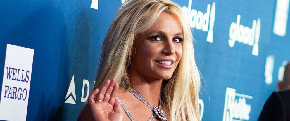 PHOTO: Britney Spears attends the 29th Annual GLAAD Media Awards at the Beverly Hilton, April 12, 2018, in Beverly Hills, Calif.