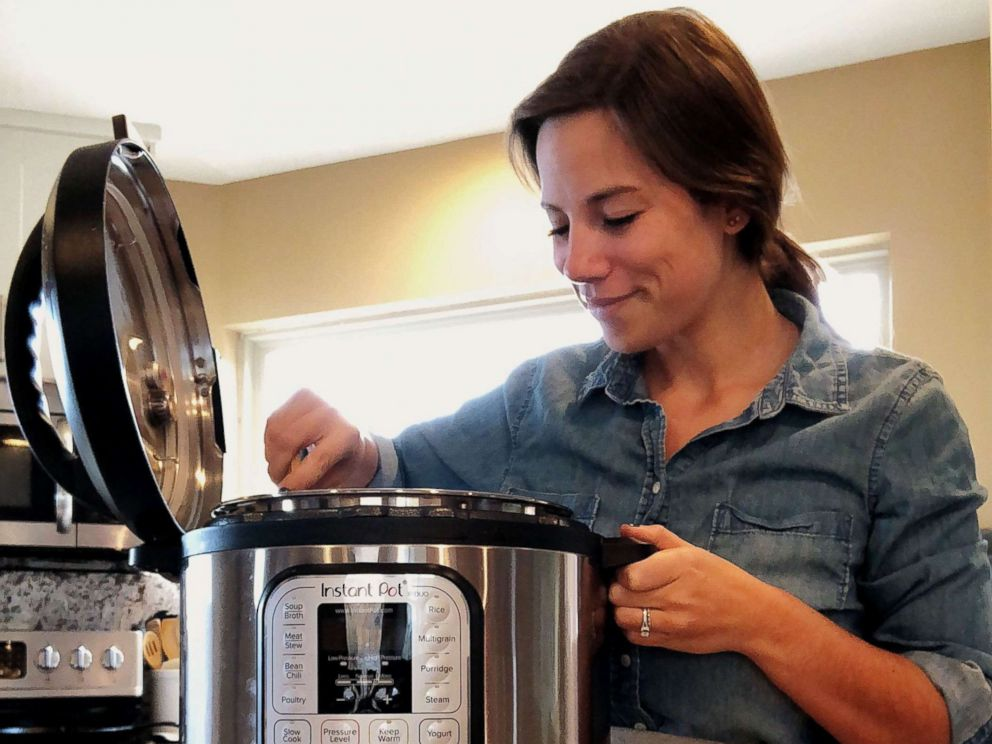 PHOTO: Brittany Williams started the blog InstantLoss.com after losing 125 pounds by cooking with the Instant Pot.