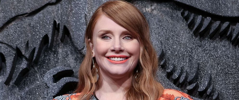 PHOTO: Actress Bryce Dallas Howard attends a film premiere in Madrid, May 21, 2018.