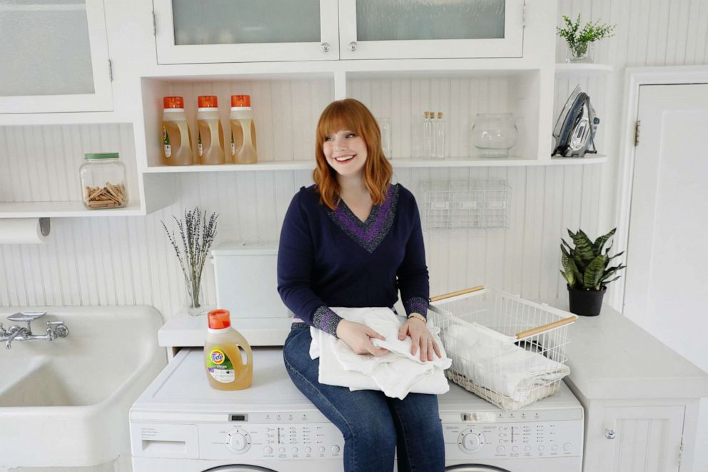 PHOTO: Actress Bryce Dallas Howard appears in an undated promotional image for Tide Purclean.