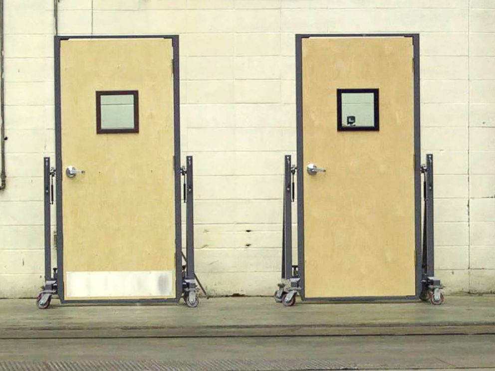 PHOTO: Bulletproof doors are pictured in this undated photo.