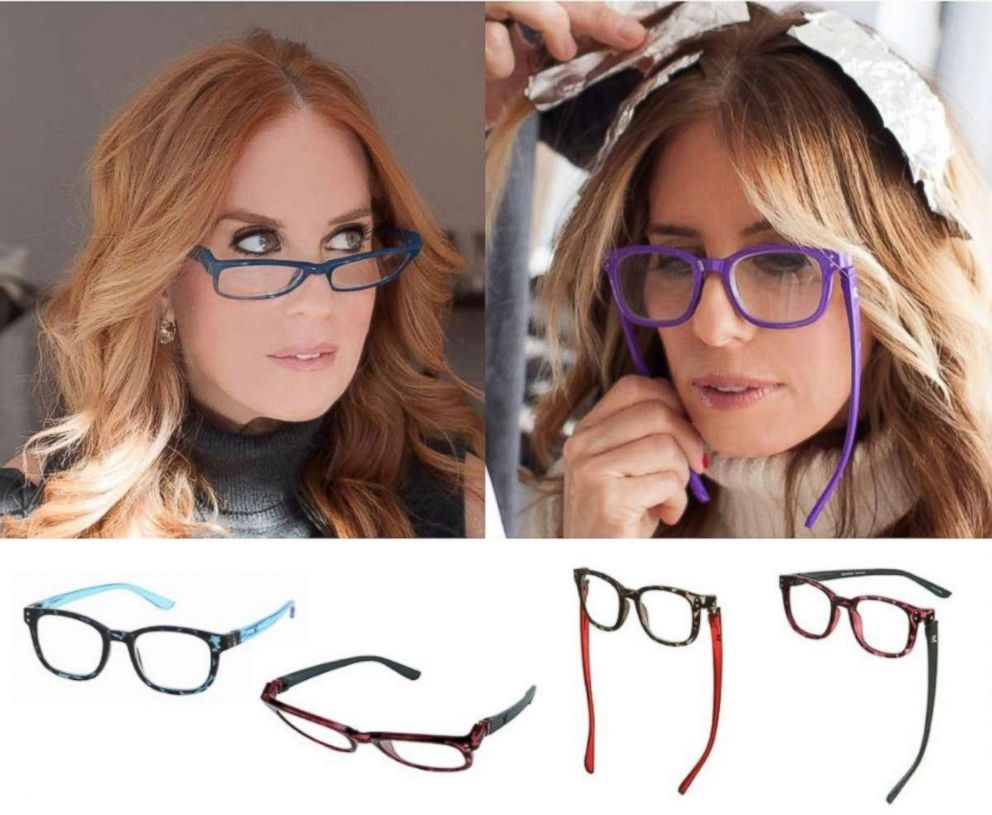 BUNNY EYEZ reading glasses are pictured.