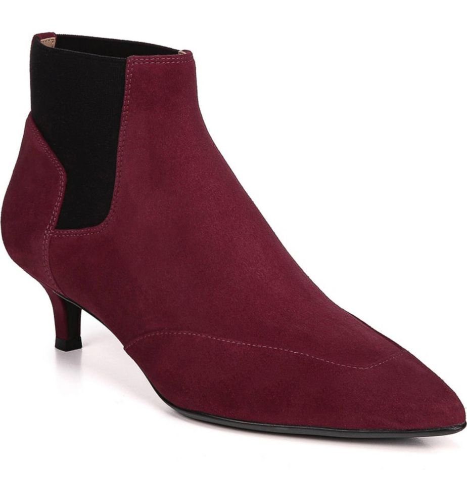 fd9060991e9 These kitten heeled burgundy boots are perfect for fall. Nordstrom