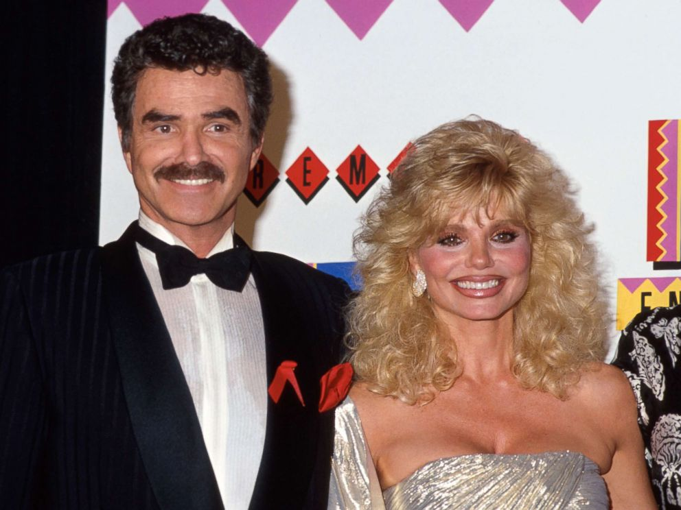 PHOTO: Actors Burt Reynolds and Loni Anderson pictured in 1992.