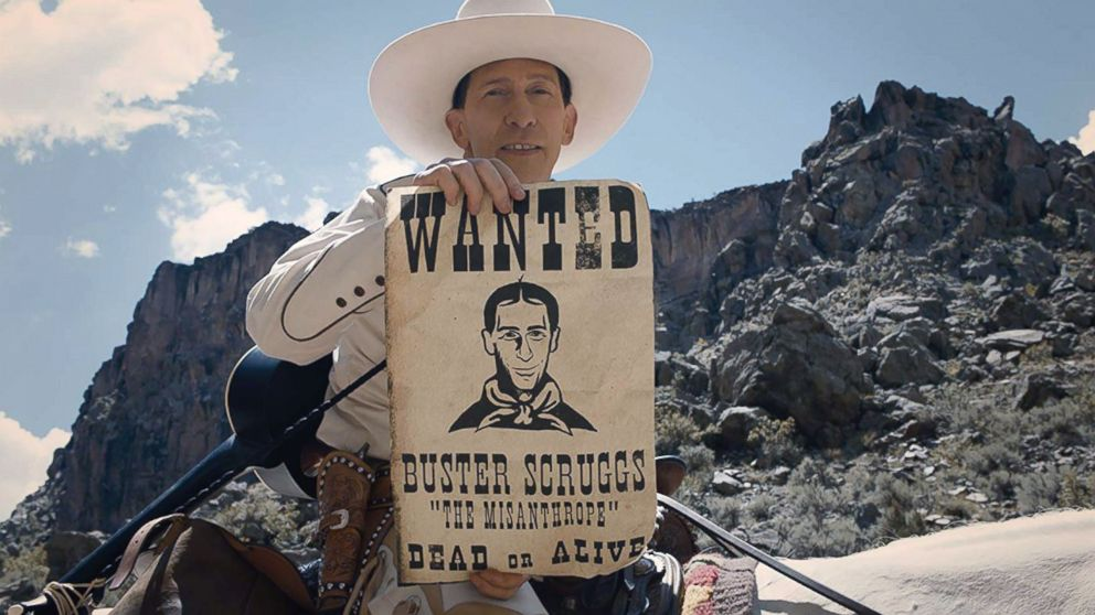 """A scene from """"The Ballad of Buster Scruggs."""""""