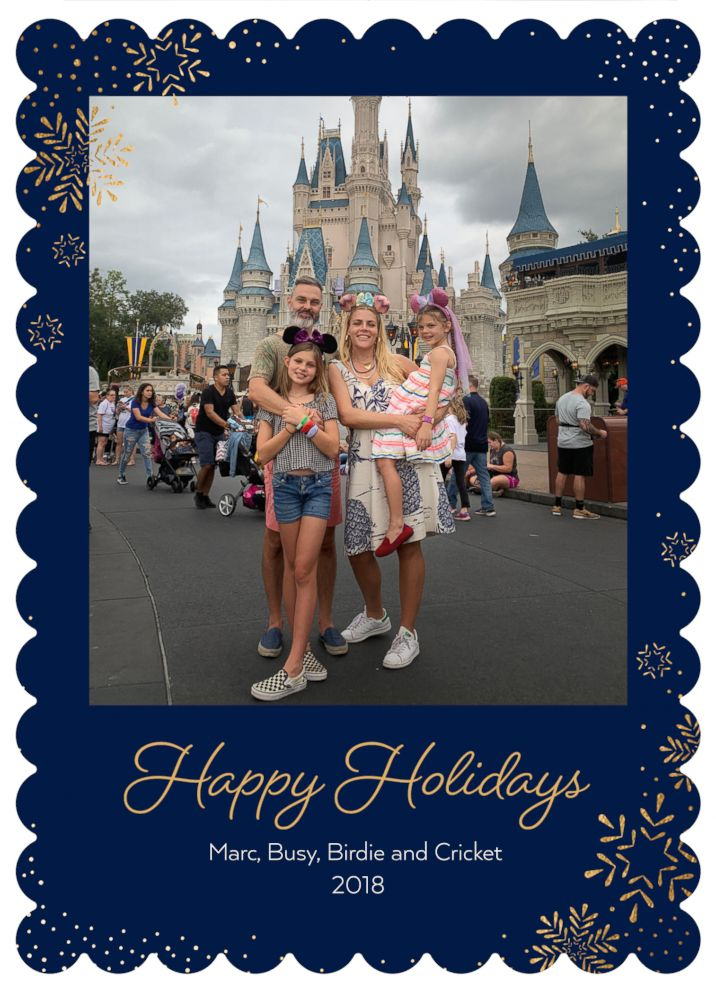 PHOTO: Busy Philips and family are pictured in their 2018 holiday card.