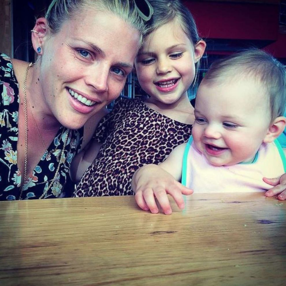 PHOTO: Busy Phillips with her younger daughters Cricket and Birdie.