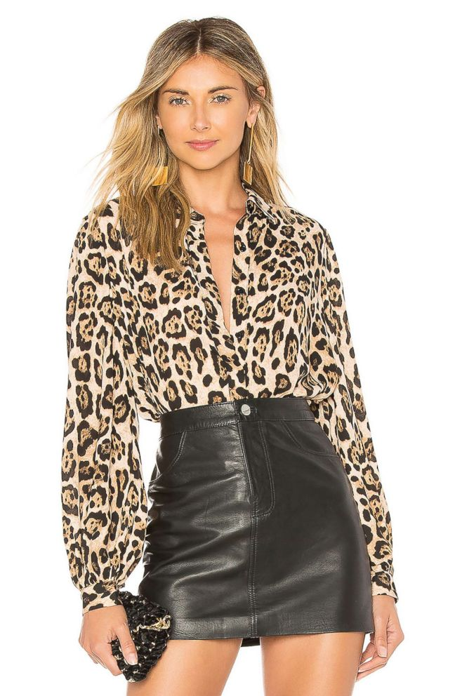 PHOTO: Style Hint: At least once a week a friend will ask us, Where can I find the perfect leopard blouse? Answer: Right here. We love this classic silky version with a slightly billowed sleeve. Youll wear it this fall and for many to come.