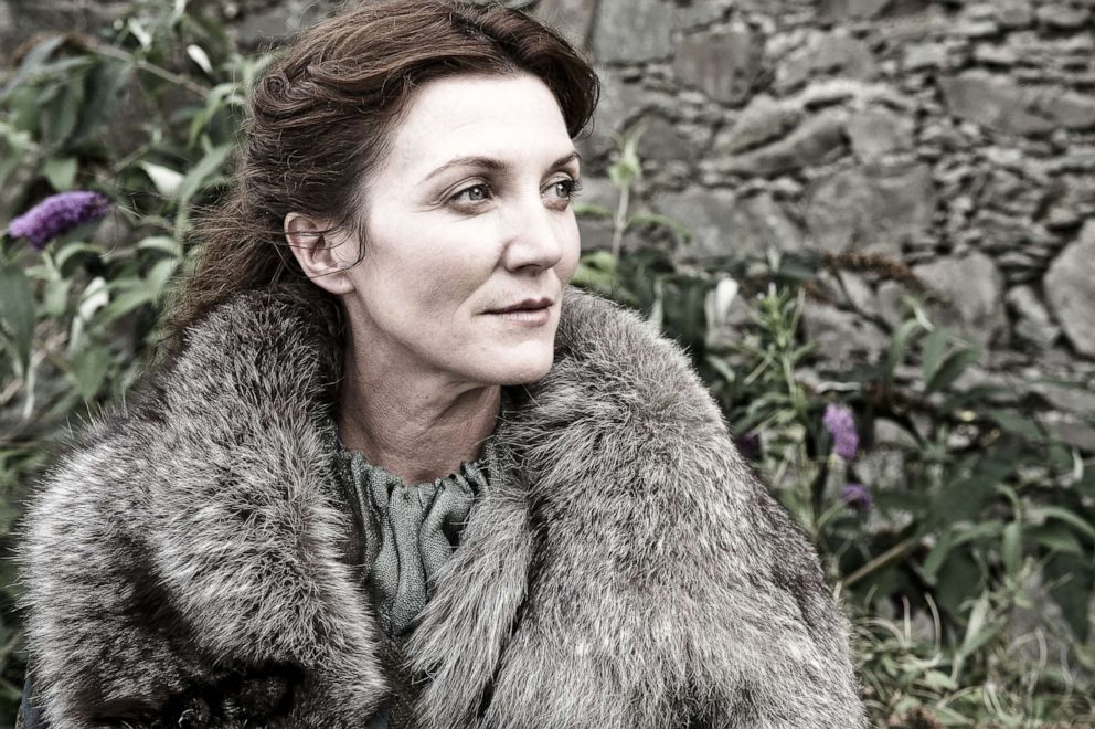 Michelle Fairley, as Catelyn Stark, in a scene from 'Game of Thrones.'