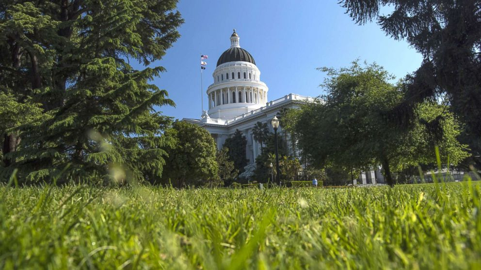 In this file photo shows the California State Capitol building in Sacramento, Calif., March 30, 2017.
