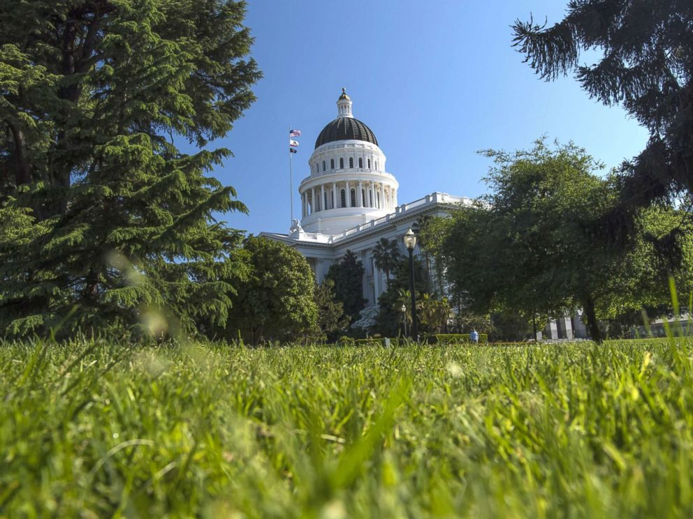 PHOTO: In this file photo shows the California State Capitol building in Sacramento, Calif., March 30, 2017.