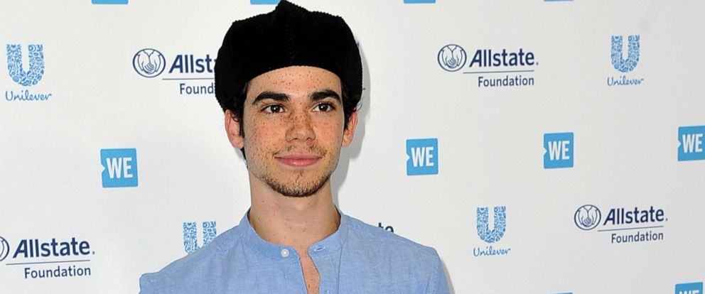 PHOTO: Cameron Boyce arrives at WE Day California at The Forum in Inglewood, Calif., April 25, 2019.