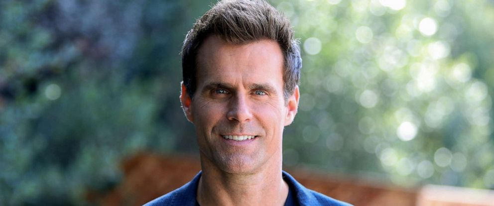 """PHOTO: Actor / TV Host Cameron Mathison on the set of Hallmarks """"Home & Family"""" at Universal Studios Hollywood, Oct. 30, 2018 in Universal City, Calif."""