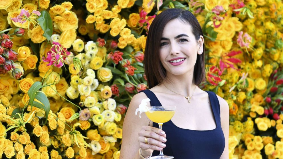 Camilla Belle poses for portrait at The Beverly Hilton menu unveiling for The 76th Annual Golden Globe Awards, Dec. 13, 2018, in Beverly Hills, Calif.