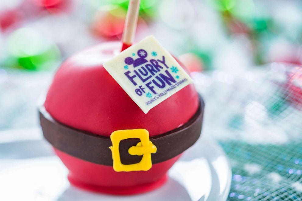 PHOTO: Disneys Flurry of Fun Candy Apple.