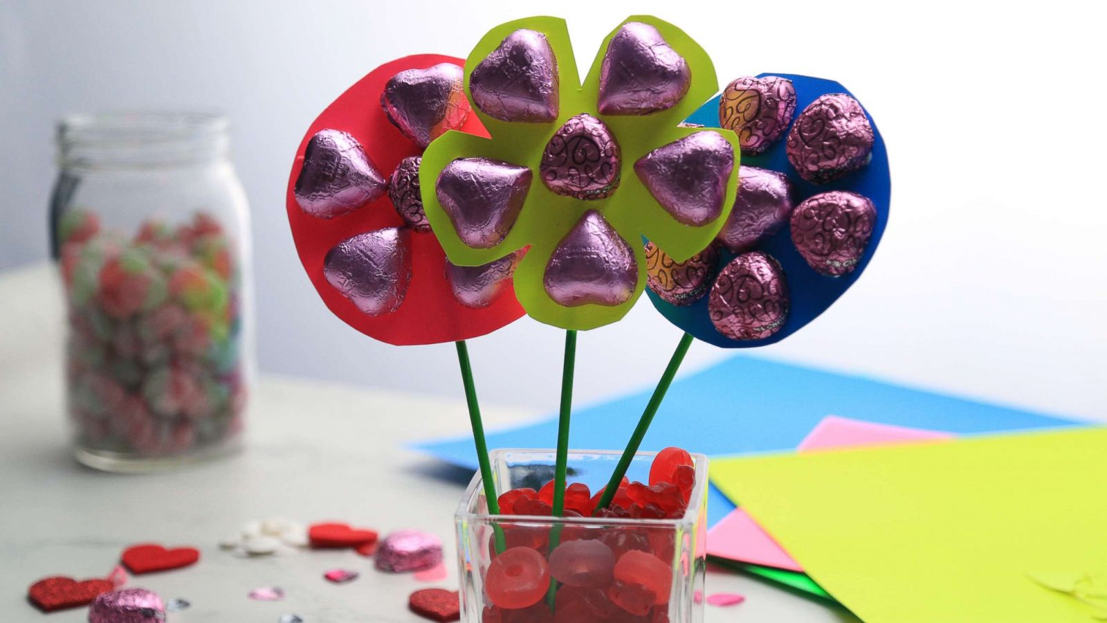 This Diy Chocolate Bouquet Is The Perfect Valentine S Day Gift For Your Sweetie Gma