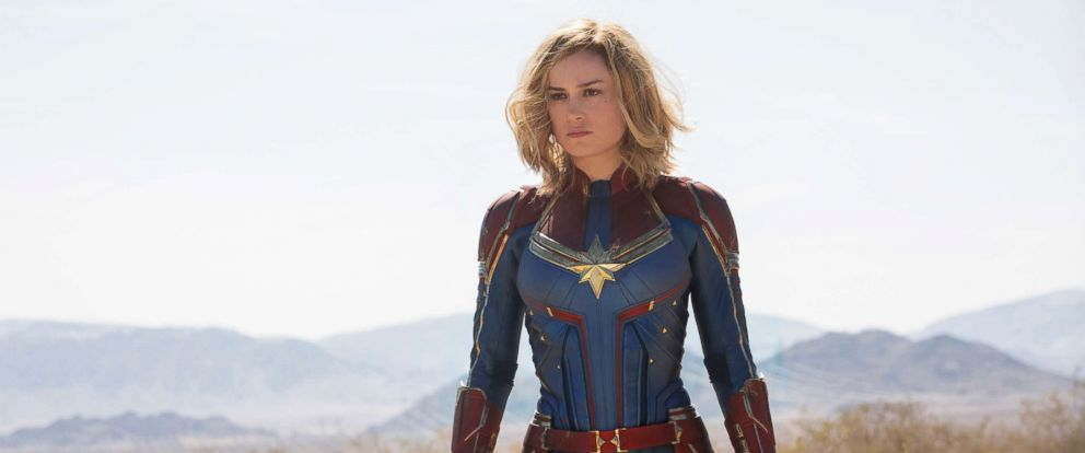 "PHOTO: Brie Larson stars as Carol Danvers in the film, ""Captain Marvel."""