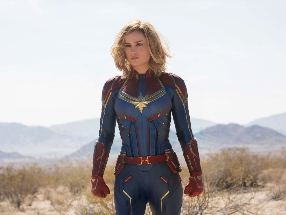 PHOTO: Brie Larson stars as Carol Danvers in the film, Captain Marvel.