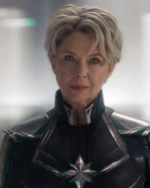 Captain Marvel Star Annette Bening Hints About Supreme Intelligence S Relationship With Carol Danvers Gma