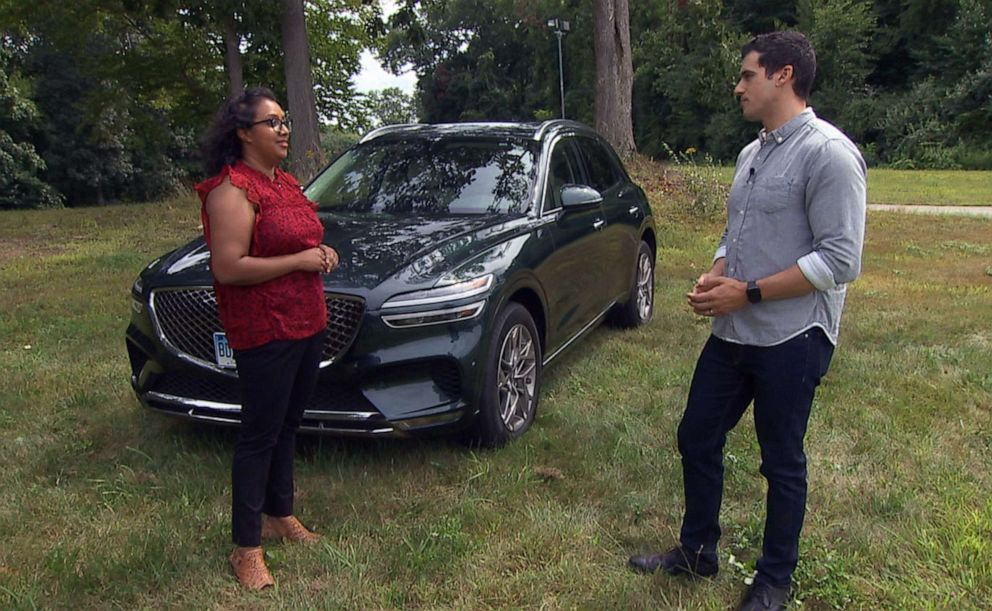 PHOTO: Dr. Emily Thomas led the Consumer Reports test on the Genesis alarm system. Thomas talks to ABC's Gio Benitez about how it works.