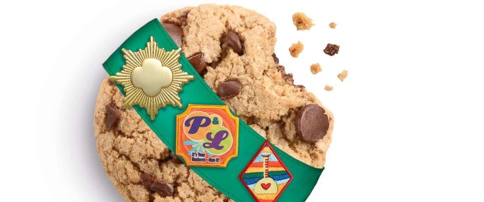 PHOTO: Girl Scouts revealed a new caramel chocolate chip cookie for 2019.
