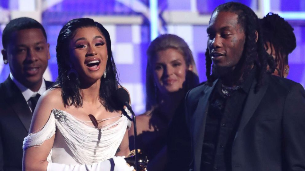 Cardi B becomes first solo woman to win best rap album