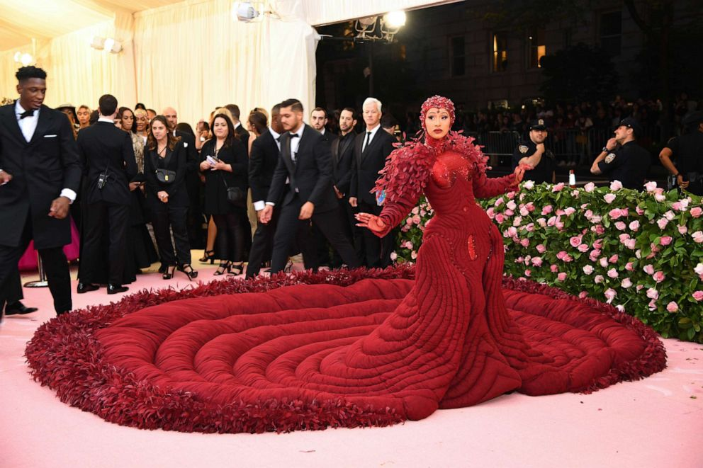 PHOTO: Cardi B attends the 2019 Met Gala Celebrating Camp: Notes on Fashion at the Metropolitan Museum of Art, May 6, 2019, in New York City.