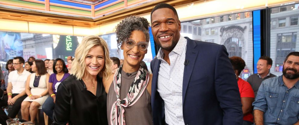 "PHOTO: Carla Hall joins ""GMA Day"" as a food contributor."