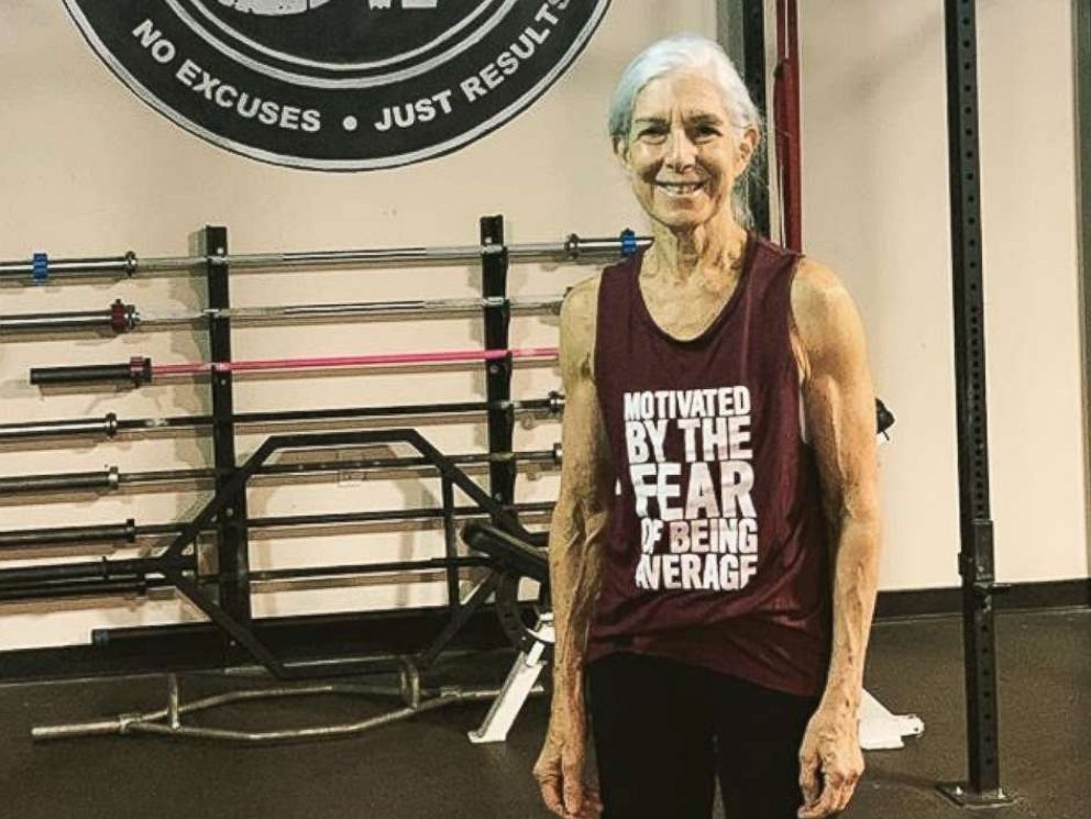 PHOTO: Lauren Bruzzone, 72, trains nearly every day of the week at Carozza Fitness in Connecticut.