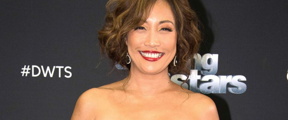 """PHOTO: Carrie Ann Inaba a judge on """"Dancing with the Stars,"""" attends an event."""