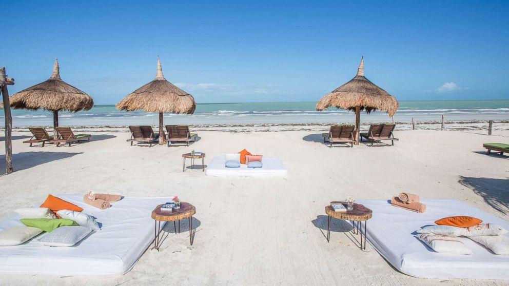 CasaSandra Boutique Hotel in Holbox, Quintana Roo, Mexico.