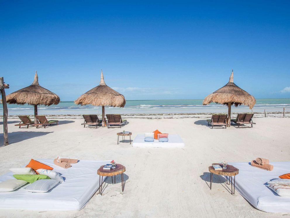 PHOTO: CasaSandra Boutique Hotel in Holbox, Quintana Roo, Mexico.