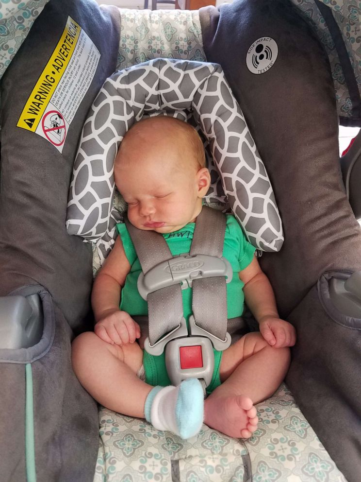 PHOTO: Erin Holley resides in South Carolina, which had the highest number of heatstroke deaths in 2018, according to KidsAndCars.org.