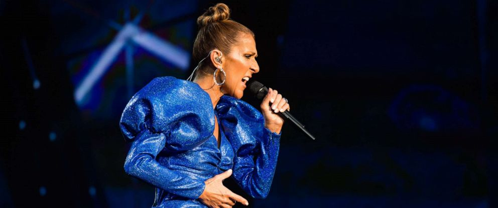 PHOTO: Celine Dion performs live at Barclaycard Presents British Summer Time Hyde Park at Hyde Park, July 5, 2019, in London.