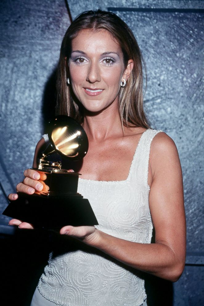 PHOTO: Celine Dion attends the 41st annual Grammy awards, Feb. 24, 1999, in Los Angeles.