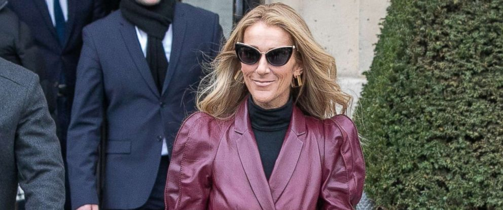 PHOTO: Singer Celine Dion is seen, Jan. 24, 2019, in Paris.