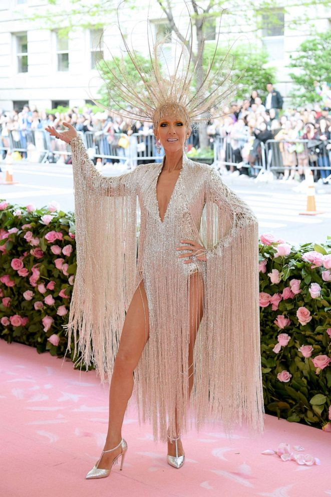 PHOTO: Celine Dion attends the 2019 Met Gala Celebrating Camp: Notes on Fashion at the Metropolitan Museum of Art, May 6, 2019, in New York City.