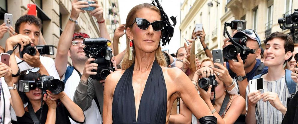 PHOTO: Celine Dion attends the Schiaparelli Haute Couture Fall/Winter 2019-2020 show as part of Paris Fashion Week on July 1, 2019 in Paris.