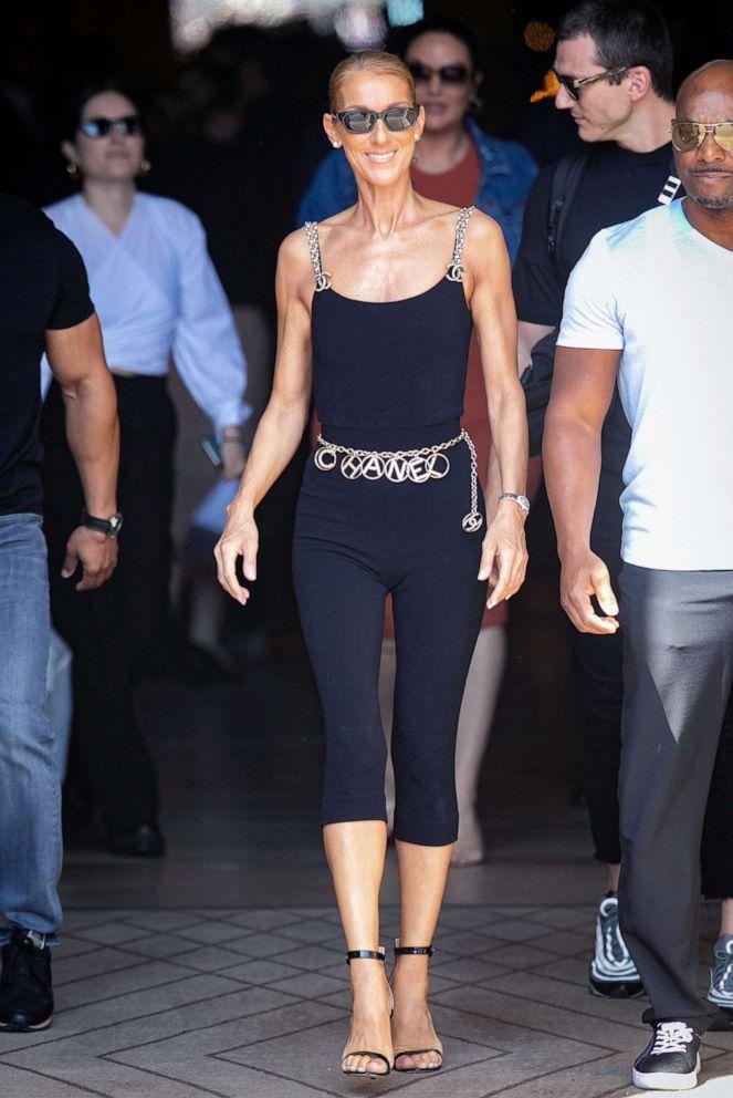PHOTO: Celine Dion steps out on June 27, 2019 in Paris.