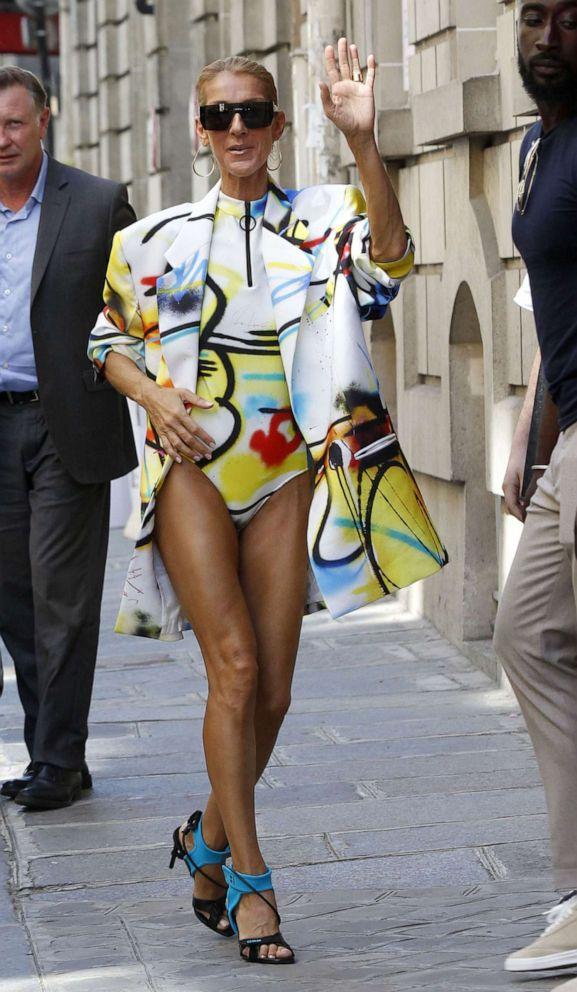 PHOTO: Celine Dion steps out in Paris, June 29, 2019.
