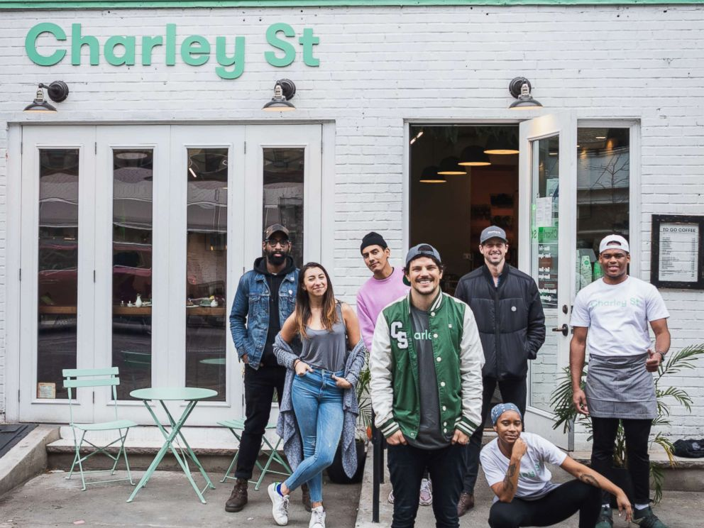 PHOTO: Australia native, chef Dan Churchill, opened his first restaurant Charley St. in New York City.